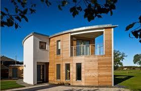 German Manufactured Eco House, Lyme Regis, Dorset