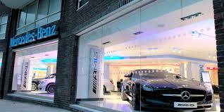 Mercedes Benz Dealership, Chelsea, London