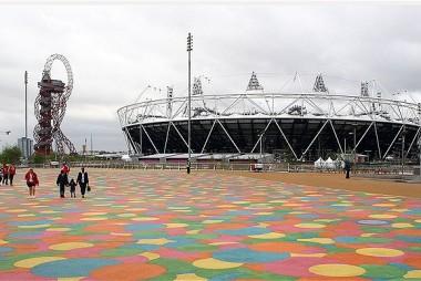 Queen Elizabeth Park Visitor Hub, Olympic Park, London