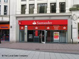 Santander, 9 Queen Street, Cardiff, Wales