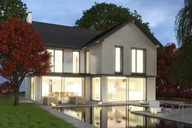 German Manufactured Eco House, Rugby, Warwickshire